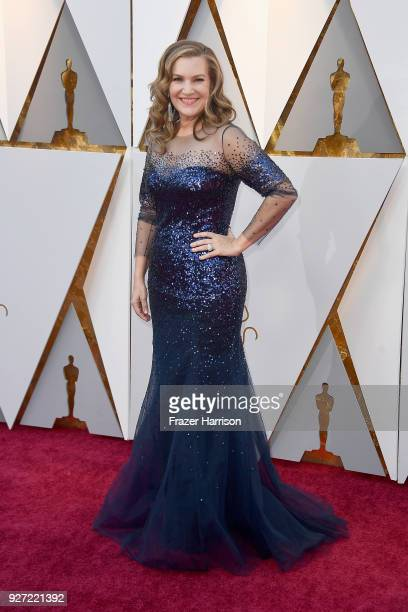 Krista Smith attends the 90th Annual Academy Awards at Hollywood Highland Center on March 4 2018 in Hollywood California