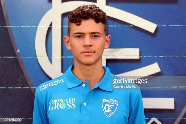 Kristakan Asllani of Empoli U19 on July 23 2018 in Empoli Italy