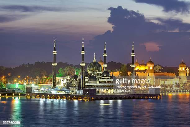 Kristal Mosque at Kuala Terrengganu, Malaysia