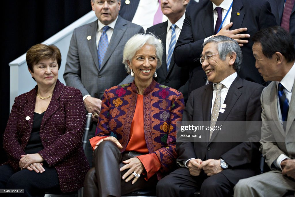 Spring Meetings Of The International Monetary Fund And World Bank : ニュース写真