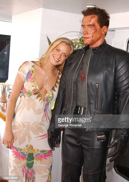 Kristanna Loken during 2003 Cannes Film Festival Terminator 3 Press Junket Onboard the Anheuser Busch Yacht at Anheuser Busch Yacht in Cannes France