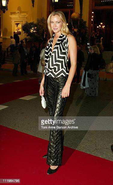 Kristanna Loken during 2003 Monte Carlo World Music Awards Cocktail Opening Party at Monte Carlo Casino in Monte Carlo Monaco
