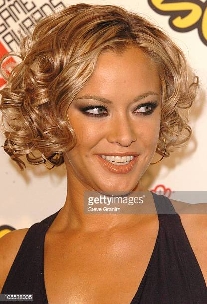 Kristanna Loken during 2005 Spike TV Video Game Awards Arrivals at Gibson Amphitheater in Universal City California United States