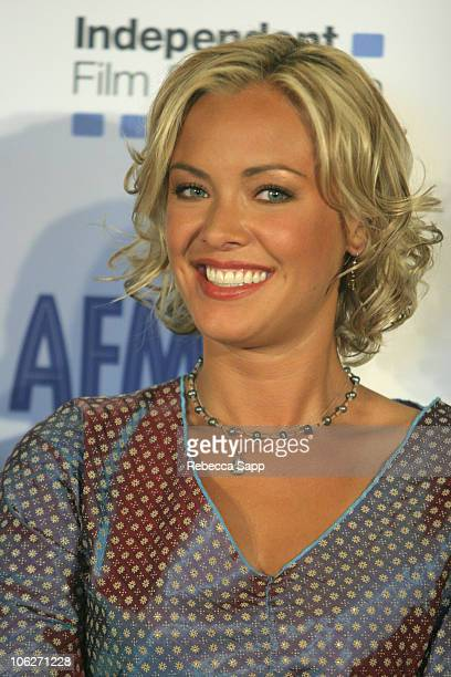 Kristanna Loken during American Film Market Bloodrayne Press Conference at Lowes Hotel in Santa Monica California United States
