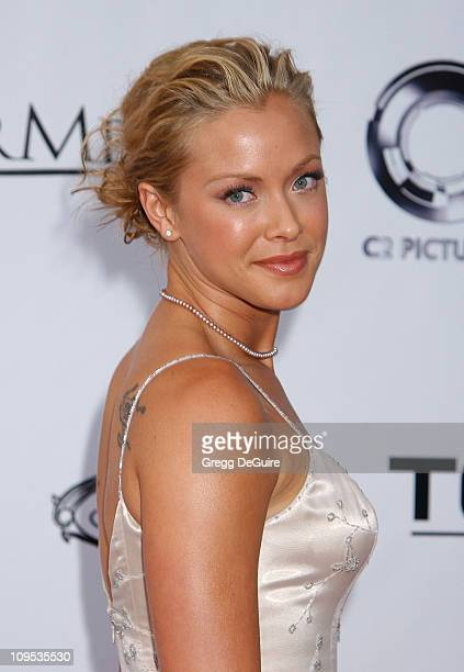 Kristanna Loken during T3 Rise Of The Machines Video Game Launch Party at Raleigh Studios in Hollywood California United States