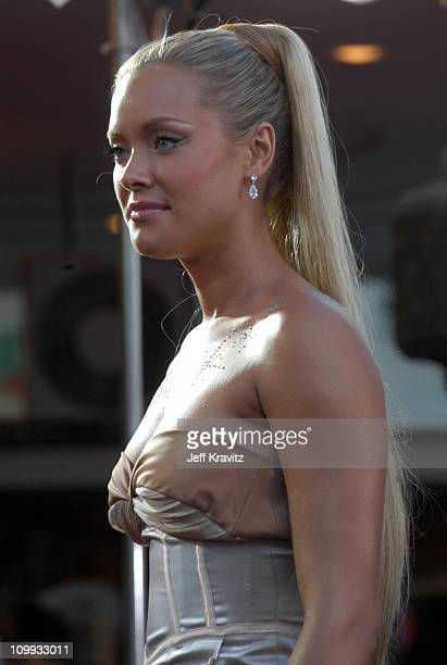 Kristanna Loken during Terminator 3 Rise of the Machines World Premiere at Mann Bruin in Los Angeles California United States