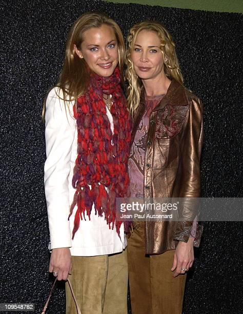 Kristanna Loken Kathleen Kinmont during Deep Nightclub's TwoYear Anniversary Party at Deep in Hollywood California United States