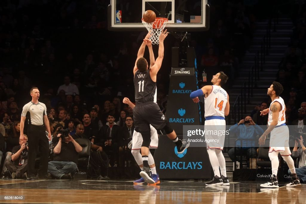 New York Knicks v Brooklyn Nets : News Photo