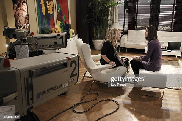LIVE Kristen Alderson and Brittany Underwood in a scene that airs the week of January 9 2012 on ABC Daytime's 'One Life to Live' 'One Life to Live'...
