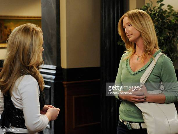 LIVE Kristen Alderson and Susan Haskell in a scene that airs the week of May 24 2010 on ABC Daytime's 'One Life to Live' 'One Life to Live' airs...