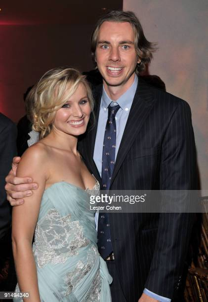 Kristen Bell and Dax Shepard attends the after party for the Los Angeles premiere of Couples Retreat at the Mann's Village Theatre on October 5 2009...