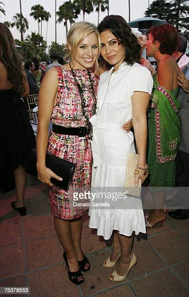 Kristen Bell and Nicole Chavez