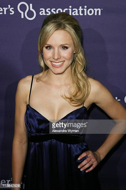 Kristen Bell arrives at The 16th Annual 'A Night at Sardi's' benefiting The Alzheimer's Association held at The Beverly Hilton Hotel on March 5 2008...