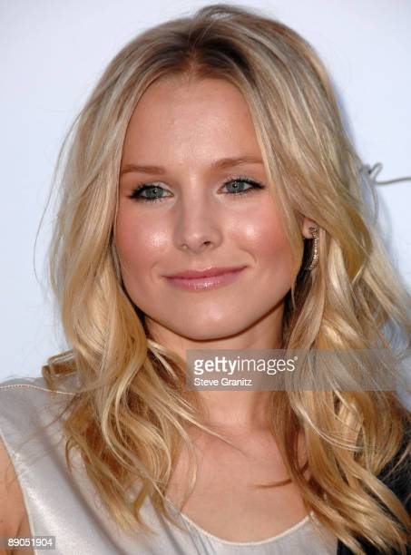 Kristen Bell arrives at the Vogue's 1 Year Anniversary Party For 3.1 Phillip Lim's LA Store on July 15, 2009 in West Hollywood, California.