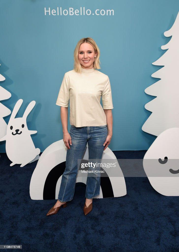 CA: Kristen Bell At Alice Kitchen In LA For Hello Bello Launch Celebration