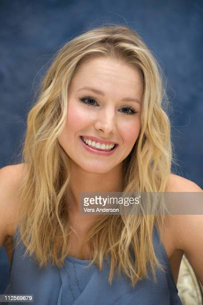 Kristen Bell at the Couples Retreat press conference at the Four Seasons Hotel on September 23 2009 in Beverly Hills California