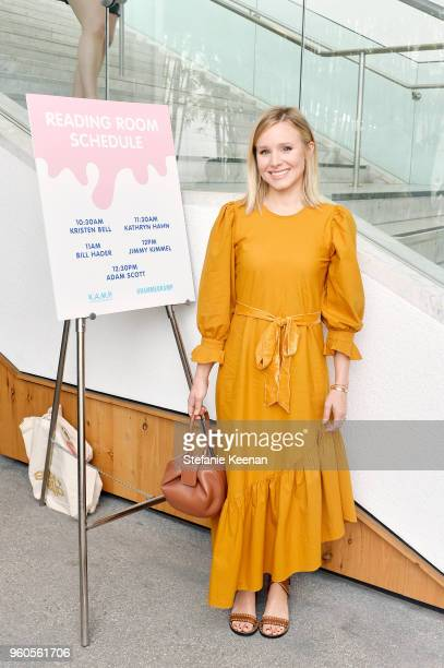 Kristen Bell attends Hammer Museum KAMP 2018 at Hammer Museum on May 20 2018 in Los Angeles California