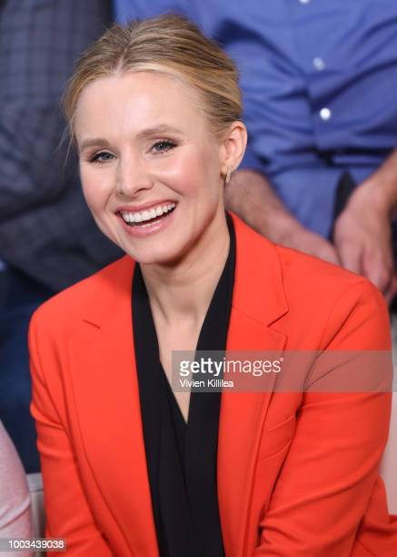 Kristen Bell attends SiriusXM's Entertainment Weekly Radio Broadcasts Live From Comic Con in San Diego at Hard Rock Hotel San Diego on July 20, 2018...