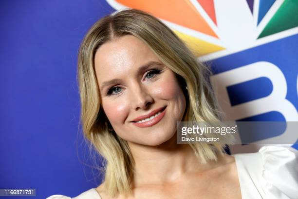 Kristen Bell attends the 2019 TCA NBC Press Tour Carpet at The Beverly Hilton Hotel on August 08, 2019 in Beverly Hills, California.