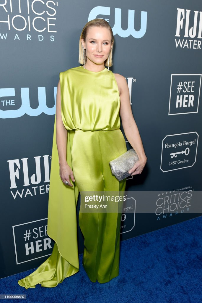 Kristen Bell Accepts The #SeeHer Award At The 25th Annual Critics' Choice Awards : ニュース写真