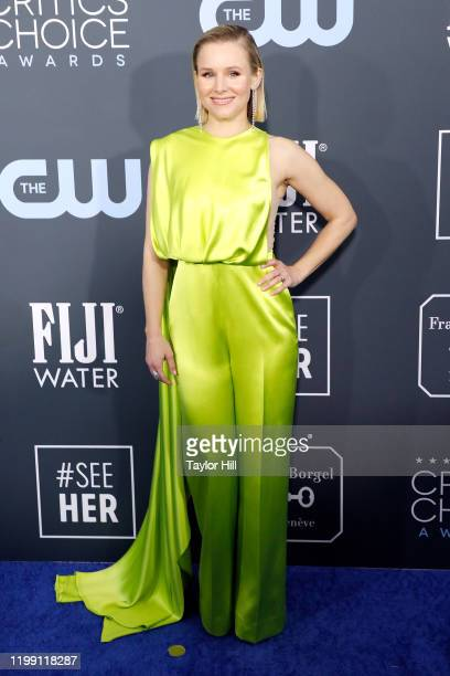 Kristen Bell attends the 25th Annual Critics' Choice Awards at Barker Hangar on January 12 2020 in Santa Monica California