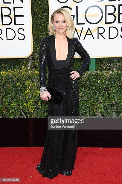 Kristen Bell attends the 74th Annual Golden Globe Awards at The Beverly Hilton Hotel on January 8 2017 in Beverly Hills California