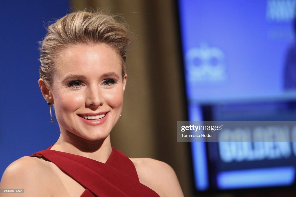 Kristen Bell attends the 75th Annual Golden Globe Nominations Announcement on December 11, 2017 in Los Angeles, California.