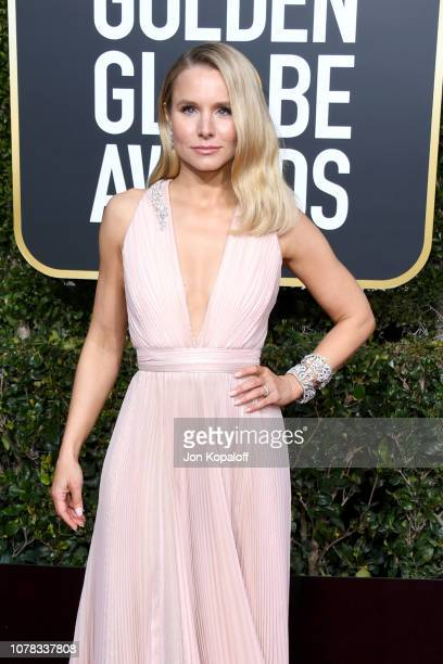 Kristen Bell attends the 76th Annual Golden Globe Awards at The Beverly Hilton Hotel on January 6 2019 in Beverly Hills California