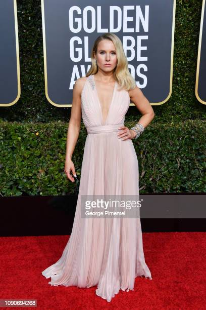 Kristen Bell attends the 76th Annual Golden Globe Awards held at The Beverly Hilton Hotel on January 06 2019 in Beverly Hills California