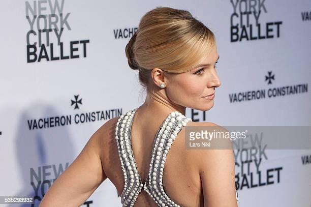Kristen Bell attends The New York City Ballet 2014 Spring Gala at the David H. Koch Theater in New York City. © LAN