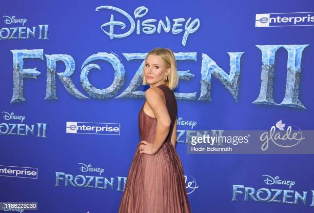 Kristen Bell attends the Premiere of Disney's Frozen 2 at Dolby Theatre on November 07 2019 in Hollywood California
