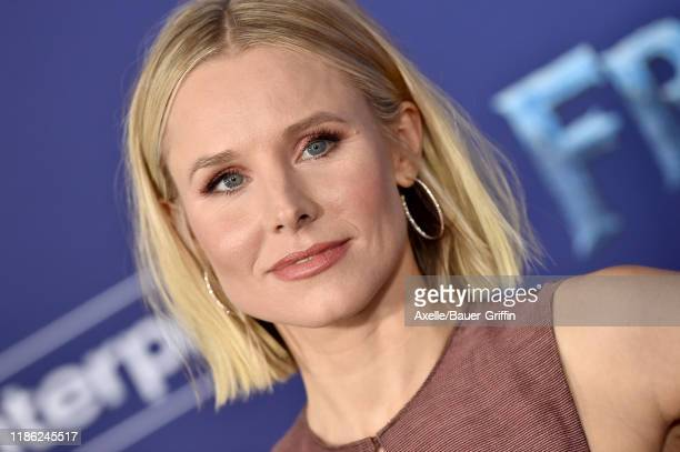 "Kristen Bell attends the Premiere of Disney's ""Frozen 2"" at Dolby Theatre on November 07, 2019 in Hollywood, California."