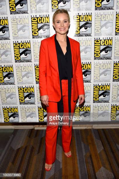 Kristen Bell attends the 'The Good Place' Press Line during ComicCon International 2018 at Hilton Bayfront on July 21 2018 in San Diego California