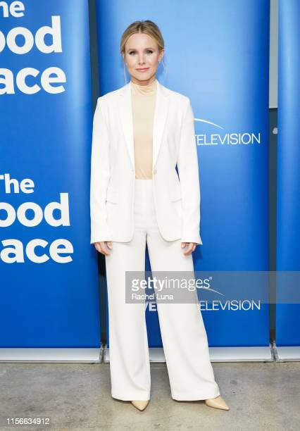 "Kristen Bell attends Universal Television's ""The Good Place"" FYC at UCB Sunset Theater on June 17, 2019 in Los Angeles, California."