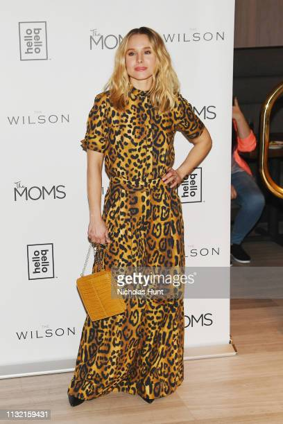 Kristen Bell celebrates the launch of Hello Bello hosted by The MOMS on February 25 2019 in New York City