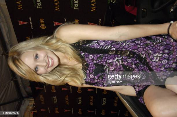 Kristen Bell during 2006 Maxim Hot 100 Party Red Carpet at Buddha Bar in New York City New York United States