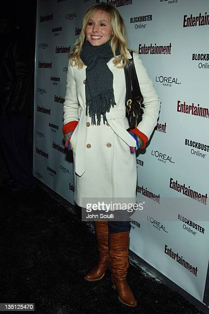 Kristen Bell during 2006 Sundance Film Festival Entertainment Weekly Sundance Opening Weekend Party Red Carpet at The Shop in Park City Utah United...