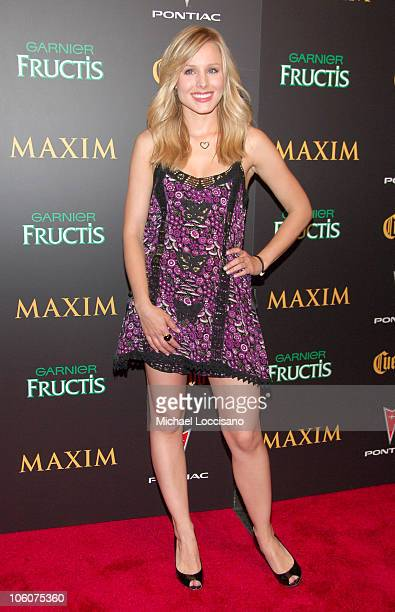 kristen bell maxim stock photos and pictures getty images