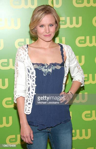 Kristen Bell during The CW 2006-2007 Prime Time Preview at Madison Square Garden in New York City, New York, United States.