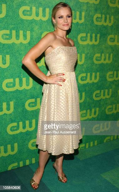 Kristen Bell during The CW Summer 2006 TCA Party - Arrivals at Ritz Carlton in Pasadena, California, United States.