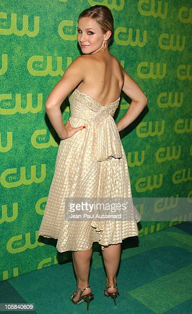 Kristen Bell during The CW Summer 2006 TCA Party Arrivals at Ritz Carlton in Pasadena California United States