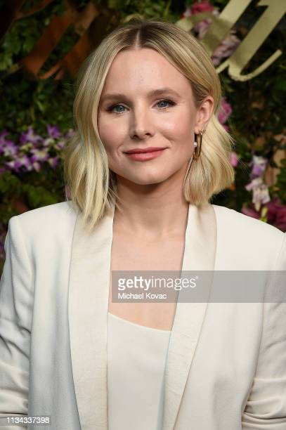 Kristen Bell hosts a Lindt Chocolate Easter Luncheon with Kristen Bell and friends at Sunset Tower on April 1, 2019 in Los Angeles, California.