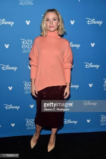Kristen Bell of 'Frozen 2' took part today in the Walt Disney Studios presentation at Disney's D23 EXPO 2019 in Anaheim Calif 'Frozen 2' will be...