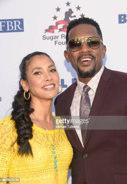Kristen Bellamy and Bill Bellamy attend the 9th Annual Big Fighters Big Cause Charity Boxing Night Benefiting The Sugar Ray Leonard Foundation at the...
