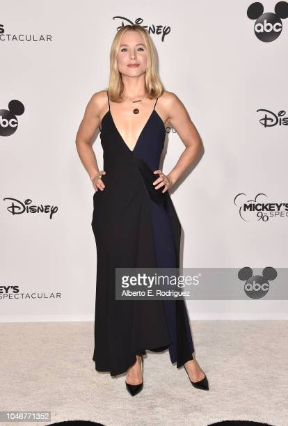 Kristen Bellattends Mickey's 90th Spectacular at The Shrine Auditorium on October 6 2018 in Los Angeles California