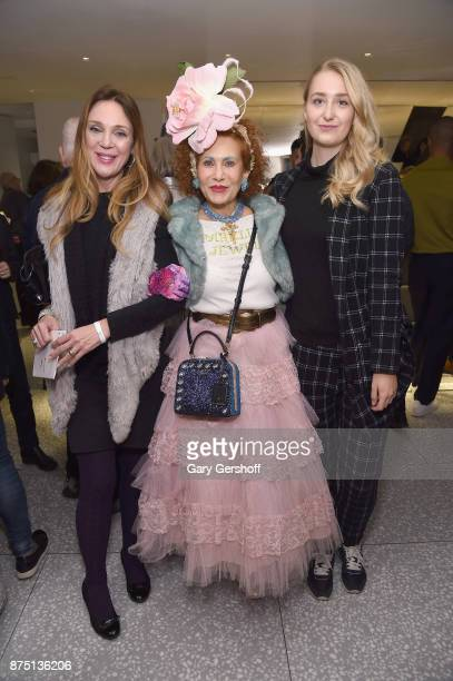 Kristen Beury designer Patricia Fox of Purely Patricia and Vivi attend Housing Works' Fashion for Action 2017 charity event at Fred's at Barney's on...