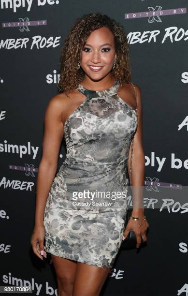 La'Tecia Thomas attends the Amber Rose x Simply Be Launch Party at Bootsy Bellows on June 20 2018 in West Hollywood California