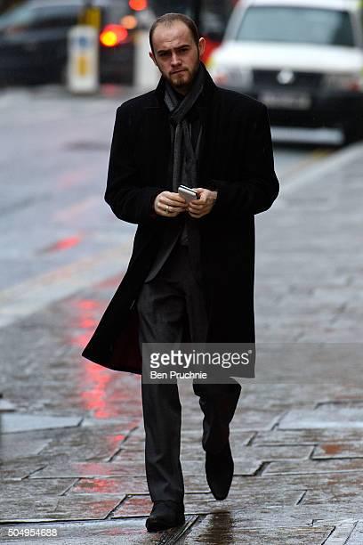 Kristen Brekke arrives at The Old Bailey on January 14 2016 in London England Kristen Brekke alongside Forhad Rahman and Adeel Ulhaq is accused of...