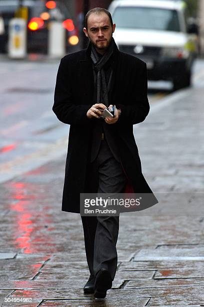 Kristen Brekke arrives at The Old Bailey on January 14 2016 in London England Kristen Brekke alongside Forhad Rahman and Adeel Ulhaq are accused of...