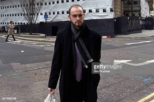 Kristen Brekke arrives at the Old Bailey on January 29 2016 in London England Kristen Brekke alongside Forhad Rahman and Adeel Ulhaq are accused of...